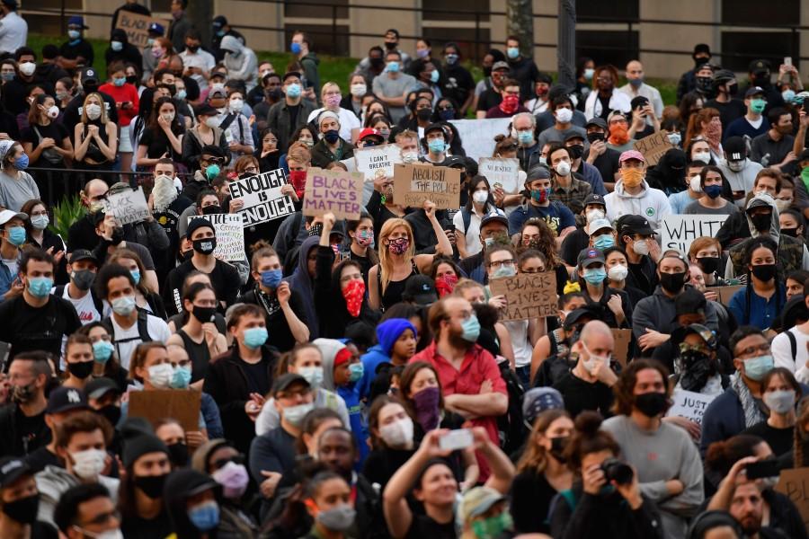 US protest NY