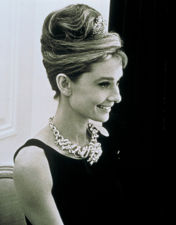 Movie still from Breakfast at Tiffany's that starred Audrey Hepburn wearing Tiffany jewellery. (Tiffany & Co)