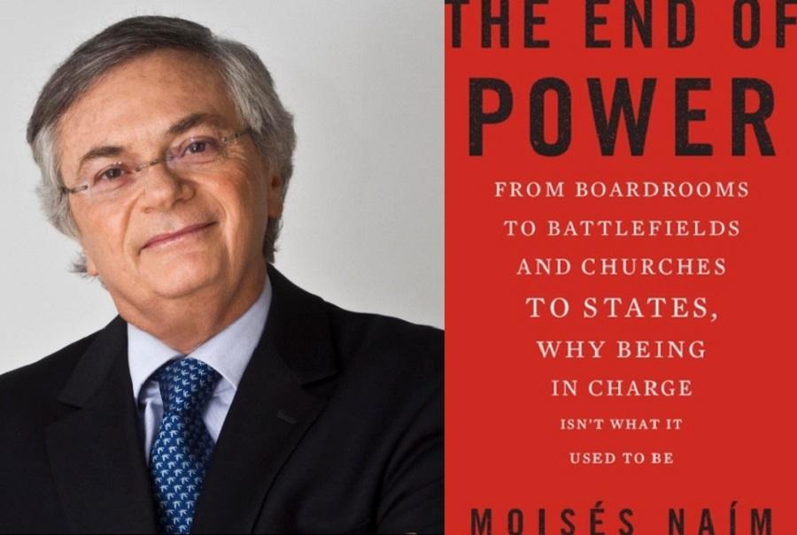 Moises Naim and his book. (Internet)