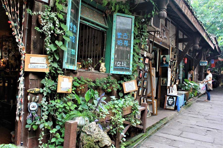 Ciqikou Ancient Town, Chongqing, 2013