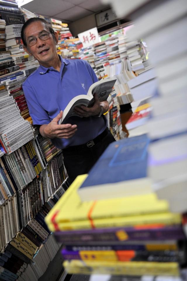 Yeo Oi Sang, book trade veteran and collector. (SPH)
