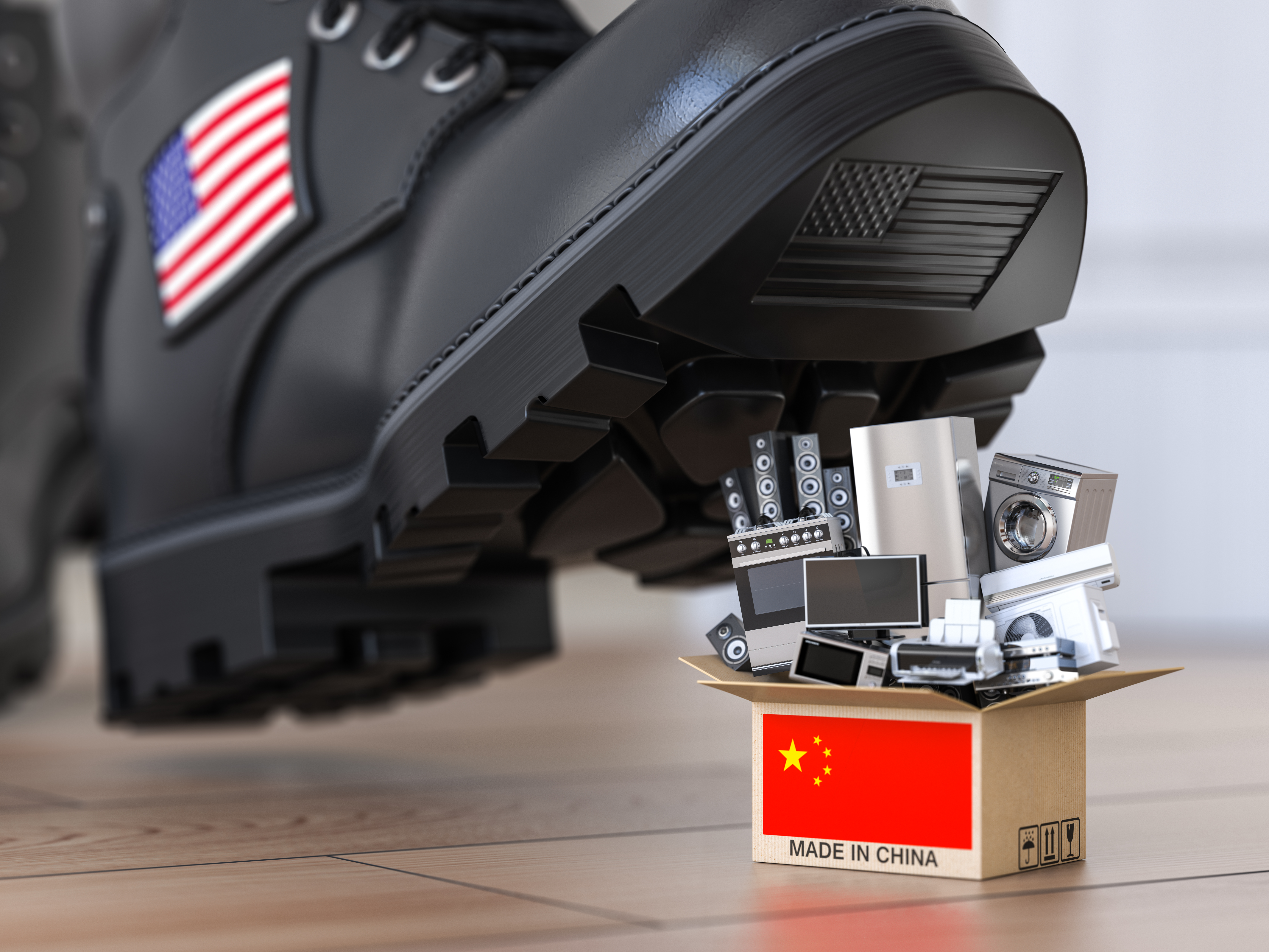 American companies that quit China will face higher costs and lower investment returns, and eventually, decline. (iStock)