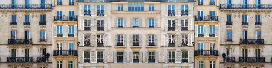 Balconies in Western-style buildings. (iStock)
