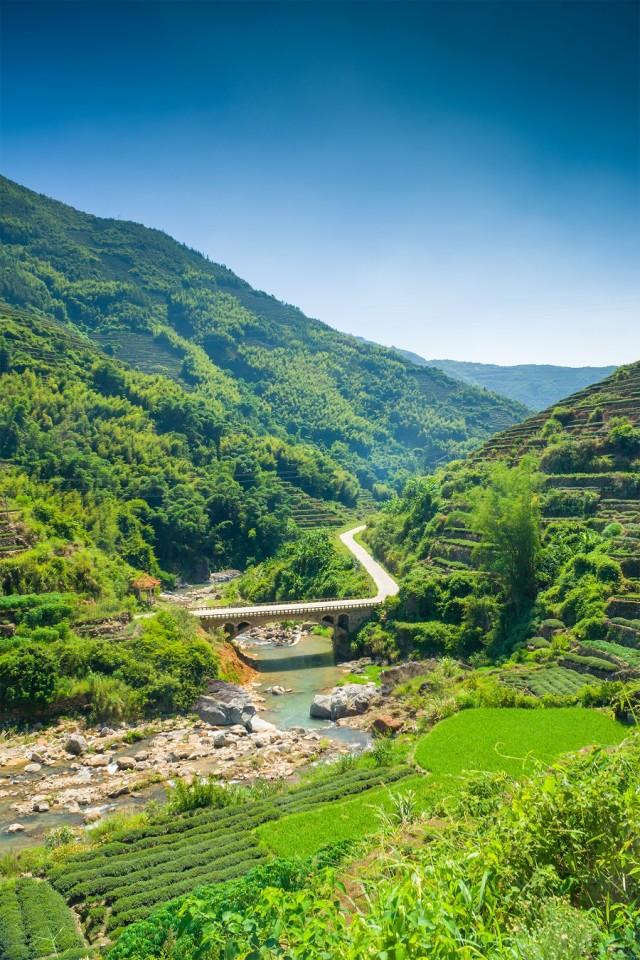 Scenic fields around China. (iStock)