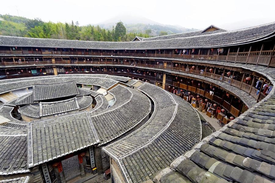 A Hakka tulou in Fujian, China. (iStock)
