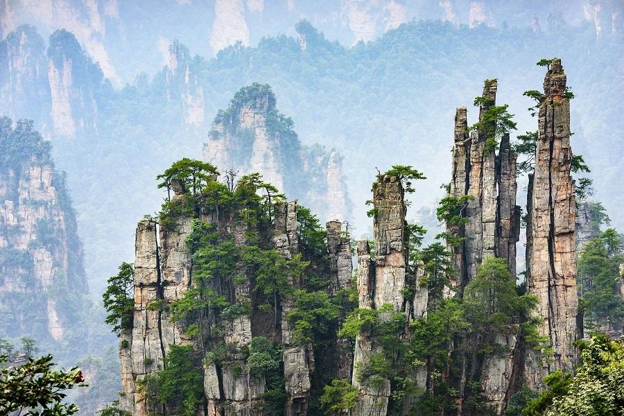 The Imperial Pen Peak of Zhangjiajie, Hunan, China. (iStock)