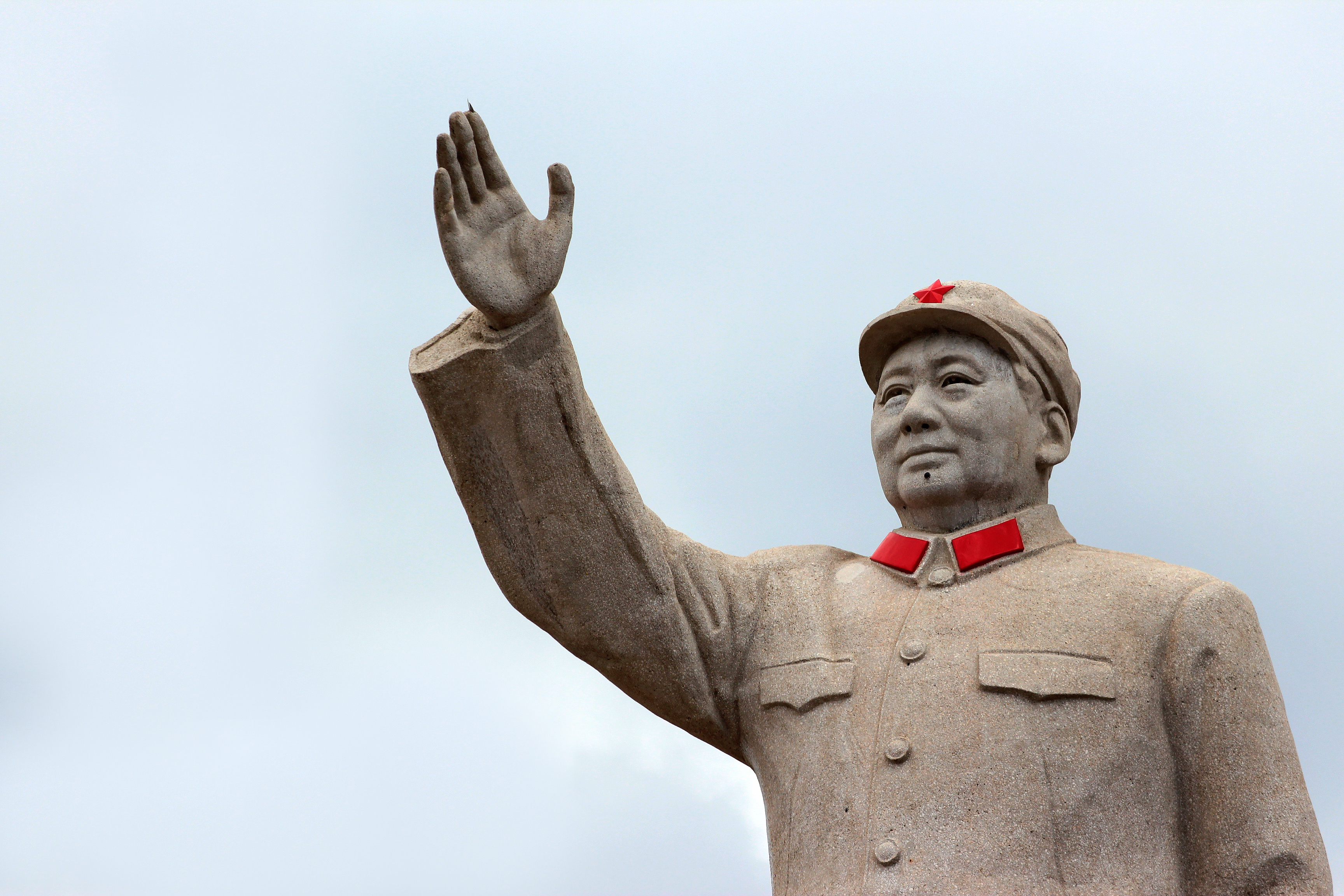"""Mao's declaration at Tian'anmen Square on 1 October 1949 that """"the Chinese people have stood up"""" kick-started the development epic of modern China. (iStock)"""
