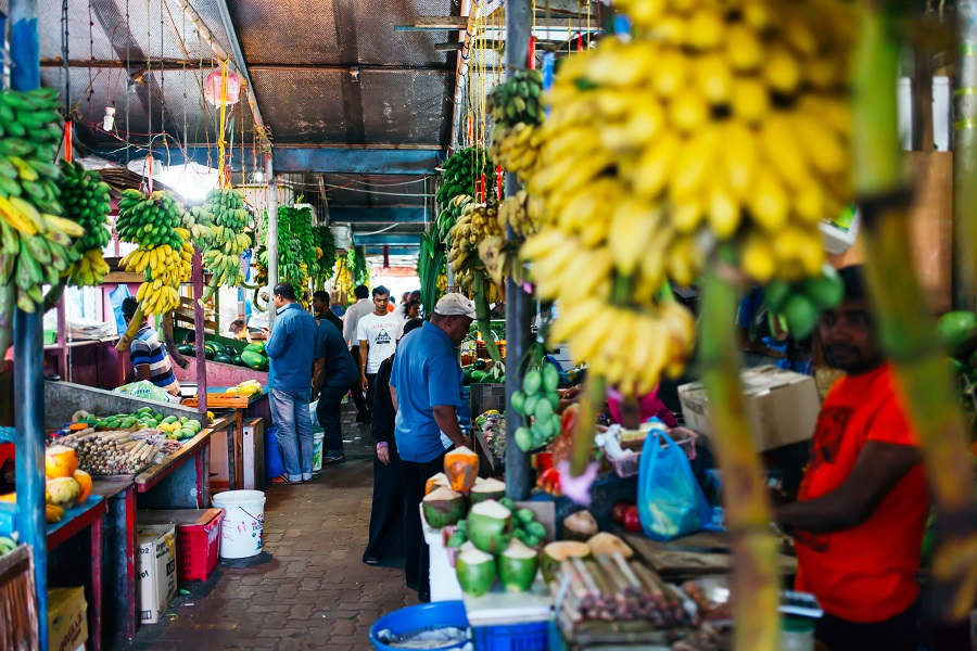 An indoor fresh fruits and vegetables market in Male, capital of the Maldives. (iStock)