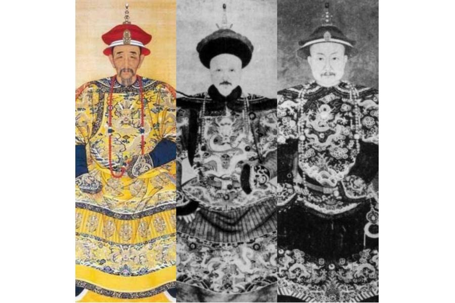 kangxi, yongzheng, qianlong