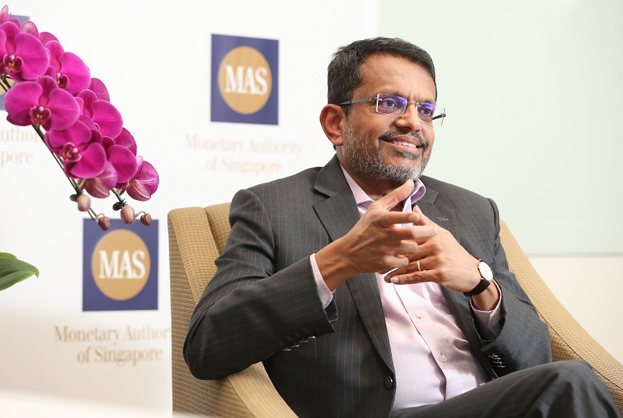 Ravi Menon, managing director of the Monetary Authority of Singapore (MAS). (SPH)