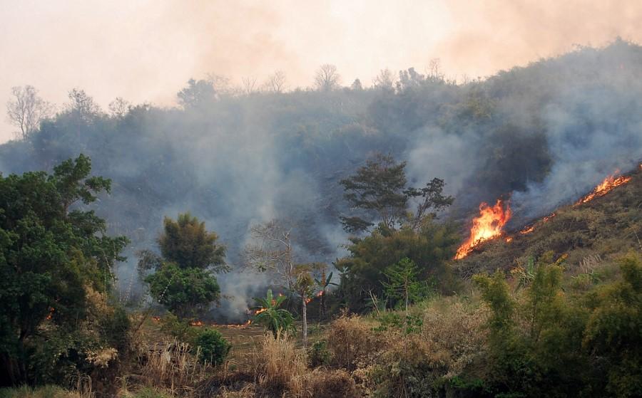 fire mekong
