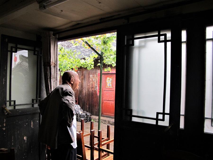 Old Man in Qingyan Ancient Town, Guiyang, 2018