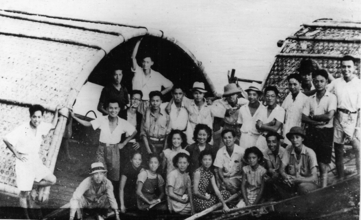In the summer of 1942, I fleed HKG with a group of 25 HKU students.