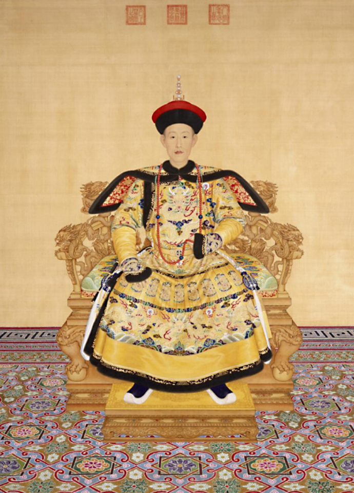 Portrait of Emperor Qianlong, The Palace Museum. (Internet)