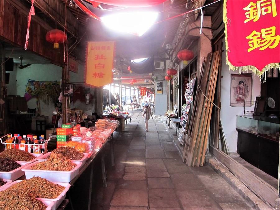 Street Market in Shaoxing, Zhejiang Province, 2013