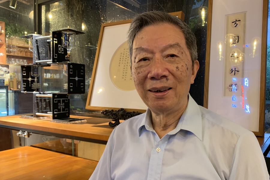 Retired professor Zheng Tianxiang, formerly of the Center for Studies of Hong Kong, Macau, and the Pearl River Delta at Sun Yat-Sen University, has decades of experience in studying the development of the Greater Bay Area, having studied Hong Kong and Macau since 1980, and the cooperation between Guangdong and Hong Kong since the 1990s. (Photo: Han Yong Hong)