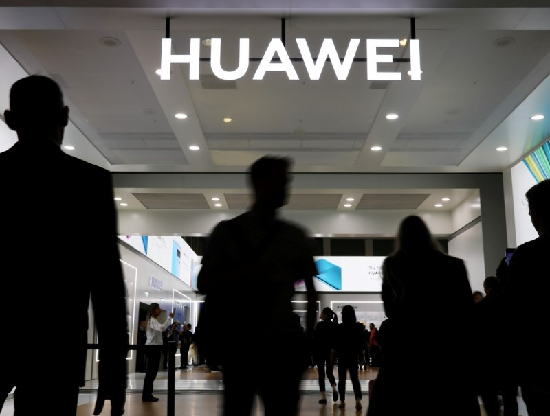 Huawei's image is badly damaged after the wrongful detention of its ex-employee, Li Hongyuan. (REUTERS/Hannibal Hanschke)