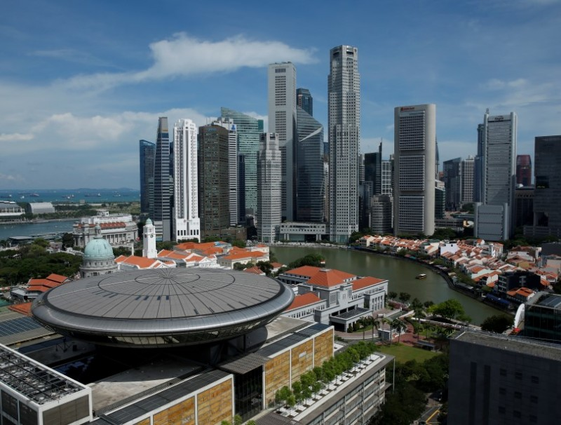 The skyline of Singapore's central business district, 27 May 2016. (Edgar Su/REUTERS)