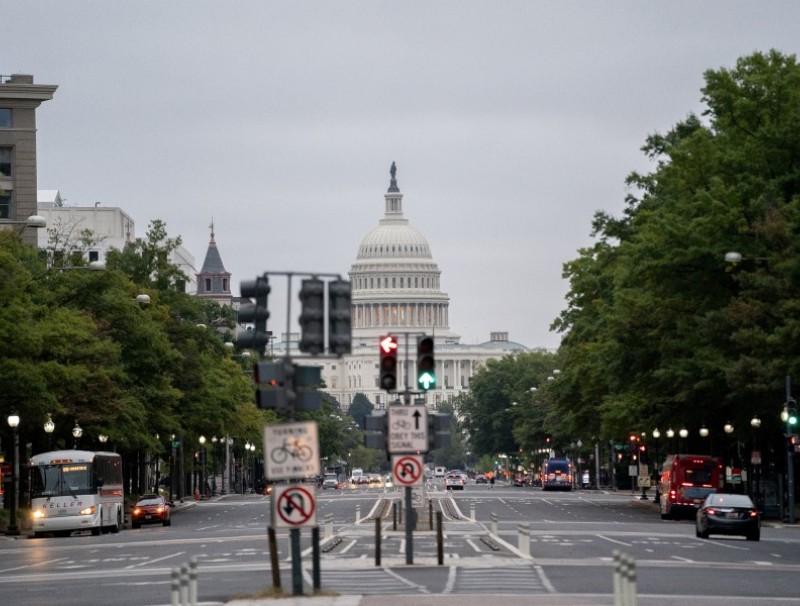 The US Capitol in Washington, DC, US, on 7 October 2021. (Stefani Reynolds/Bloomberg)