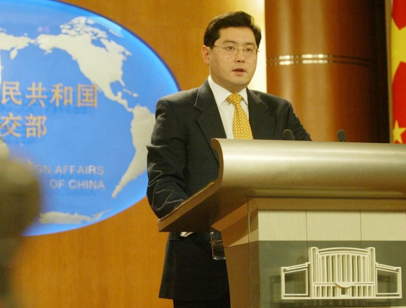 Chinese Foreign Ministry Vice-Minister Qin Gang is expected to become the next Chinese ambassador to the US. (CNS)
