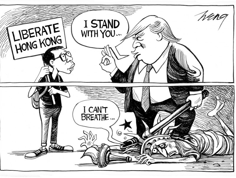 Cartoon: Heng Kim Song