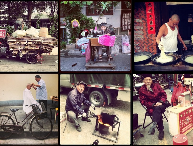 A glimpse of some of China's vanishing trades.