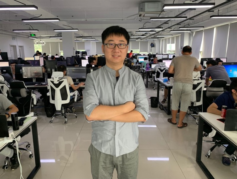 Hu Sen wanted to study and be a researcher or university professor, and had no intention of starting a business. In the end, he left Yale and became an entrepreneur. (Photo: Lim Zhan Ting)