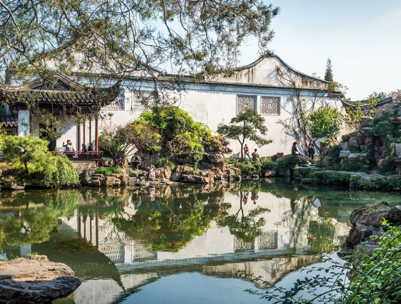 The charming Master of the Nets Garden in Suzhou. (iStock)