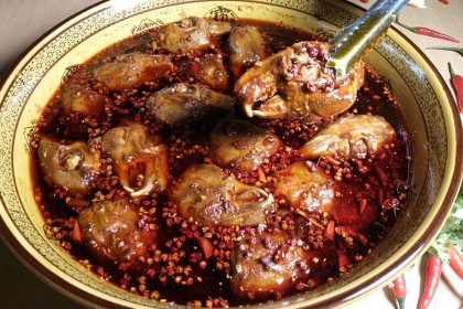 "The rabbit head is the epitome of ""compound flavours"" — the Sichuan people consume on average 300 million rabbit heads a year. (Internet)"
