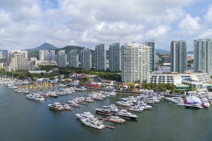 The Hainan free trade port is a new initiative by the Chinese government. (Internet)