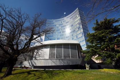 The headquarter of the World Intellectual Property Organisation (WIPO) is pictured in Geneva, Switzerland on 3 March 2020. (Denis Balibouse/Reuters)