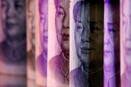 Chinese RMB banknotes are seen in this illustration taken on 10 February 2020. (Dado Ruvic/Illustration//File Photo/Reuters)