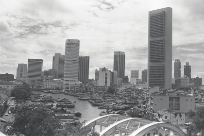 By 1965, the people of Singapore had internalised the early imperial linkages. They set out to build on that heritage to seek its place as a global city and turn its plural society into a viable and prosperous state. The photo shows a view of Boat Quay, Singapore River and the financial district in 1978. (SPH)