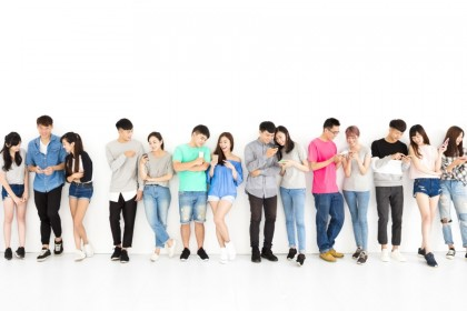 The 90s generation is charting their own path, including through social media. (iStock)