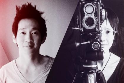 Fine art photographers John Clang (L) and Zhou Yang. (John Clang and Zhou Yang)