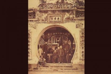 Hoo Ah Kay at Nam-sang Fa-un. (Photo: Kua Bak Lim/Courtesy of National Archives of Singapore)
