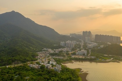 The Nai Chung Pebbles Beach in Ma On Shan, which is on the eastern coast of Tolo Harbour in the New Territories of Hong Kong. (iStock)