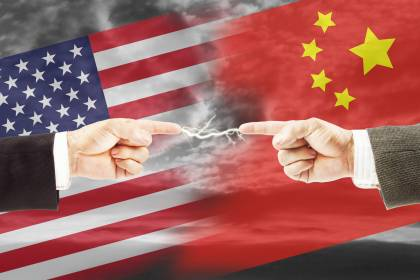 Now, it's China's turn to counterattack, this time against America's economic assault. (iStock)