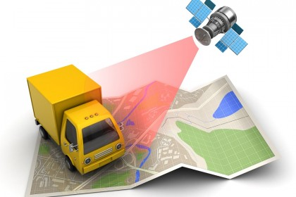 GPS-enabled trackers ensure delivery trucks take optimal routes for their deliveries (iStock)