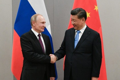 Russia and China are getting closer in terms of military ties. (Reuters)