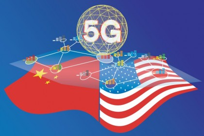 China and the US are deep in competition in the 5G technology arena. (iStock)